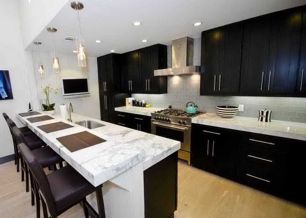 Different Color Kitchen Cabinets