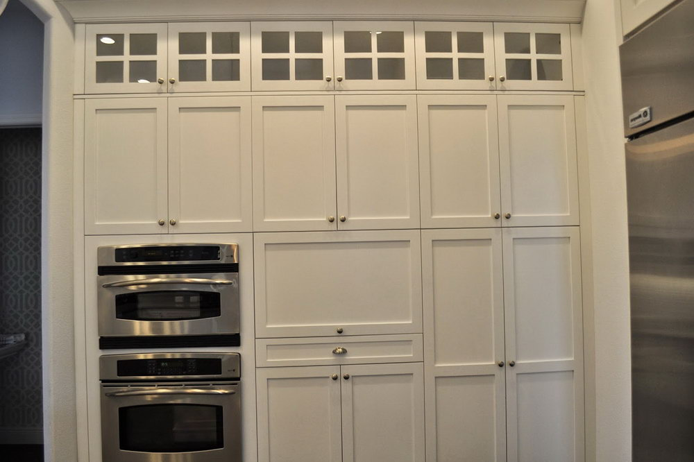 Full Length Kitchen Cabinets