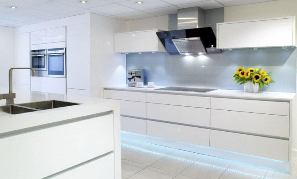 Gloss Finish Kitchen Cabinets