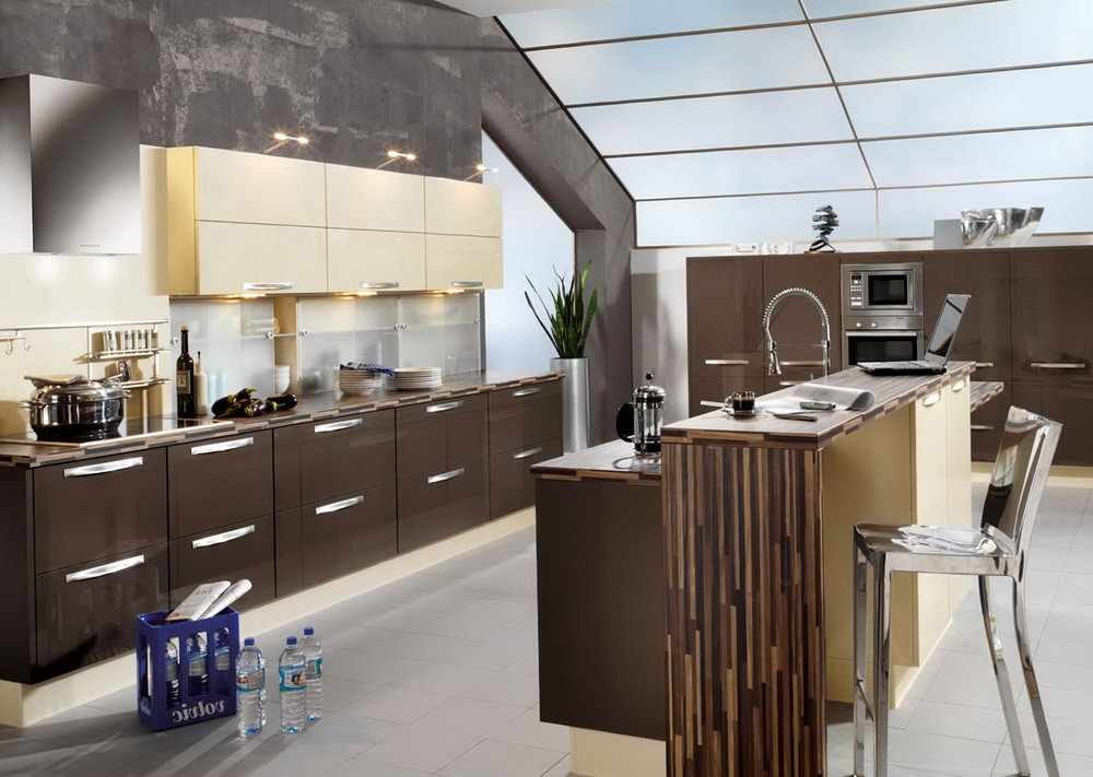 Gloss Kitchen Cabinets