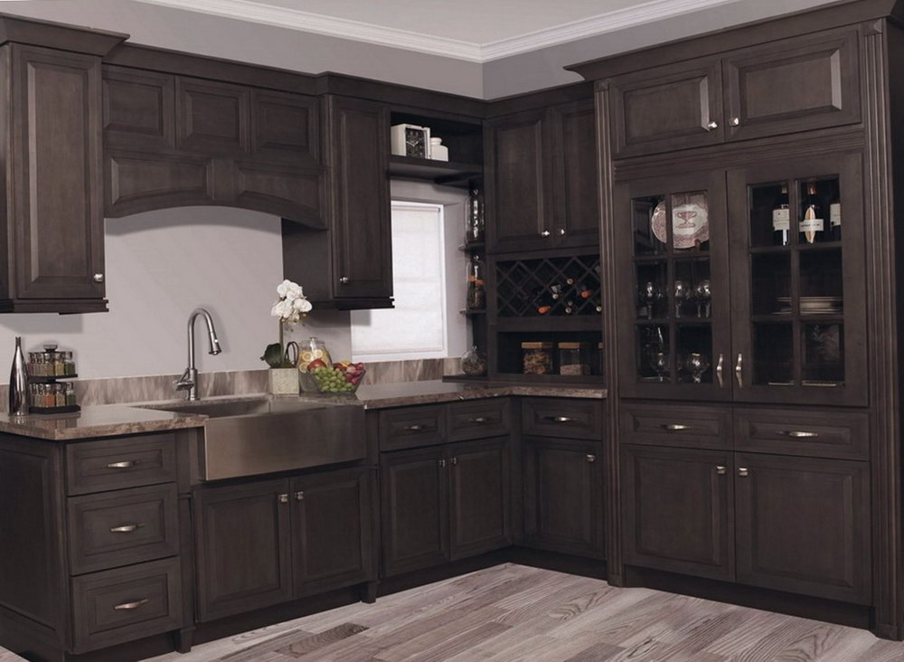 Grey Stain For Kitchen Cabinets