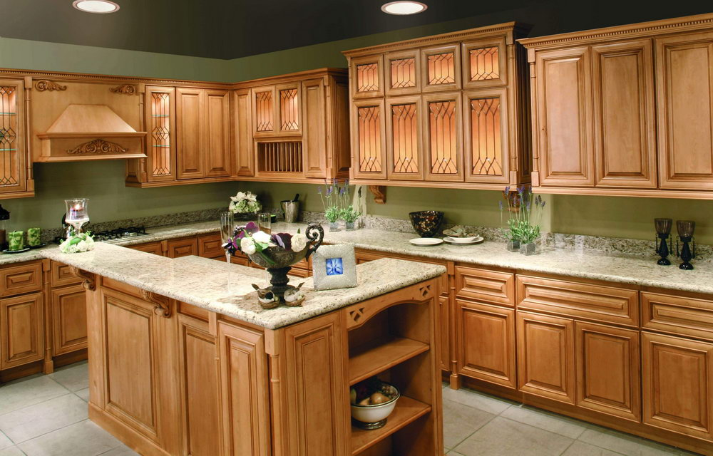 Honey Oak Kitchen Cabinets Makeover