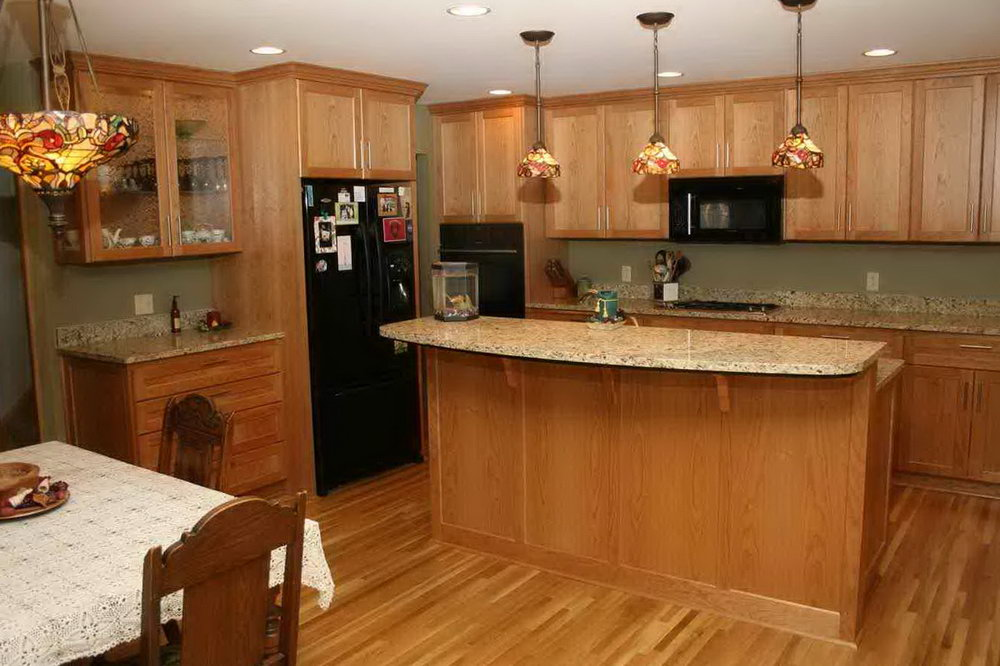 Honey Oak Kitchen Cabinets Update