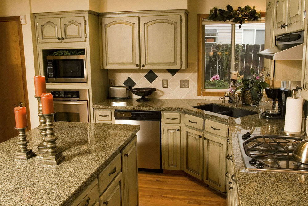 How Much For New Kitchen Cabinets And Countertops