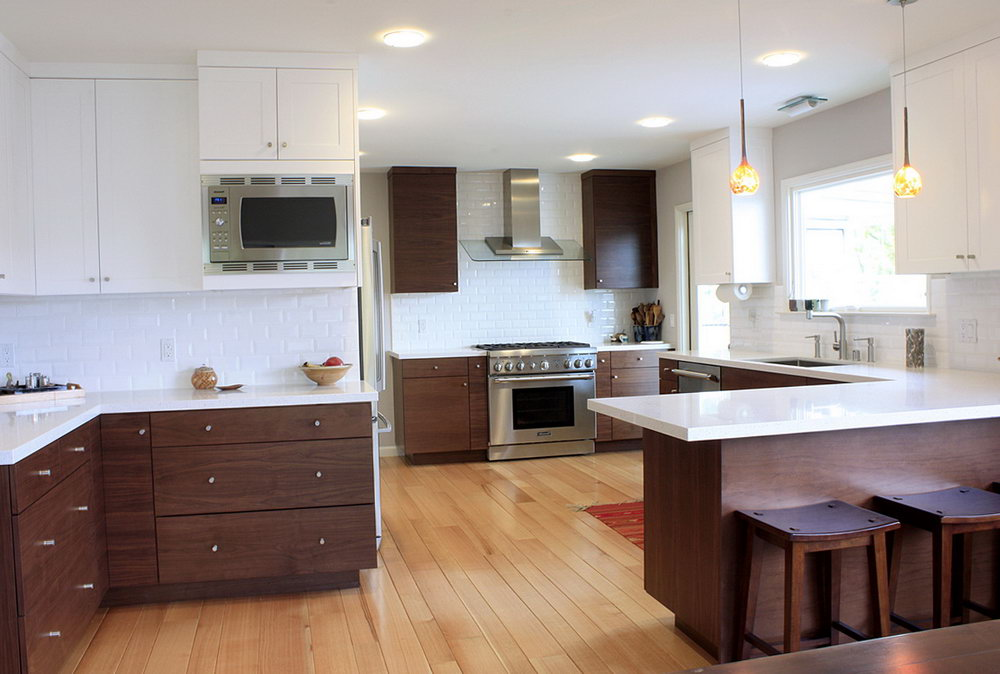 How To Clean White Kitchen Cabinets Wood