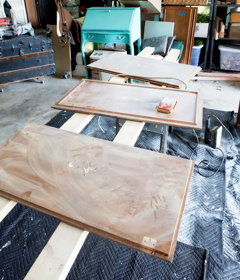 How To Sand Kitchen Cabinets For Painting