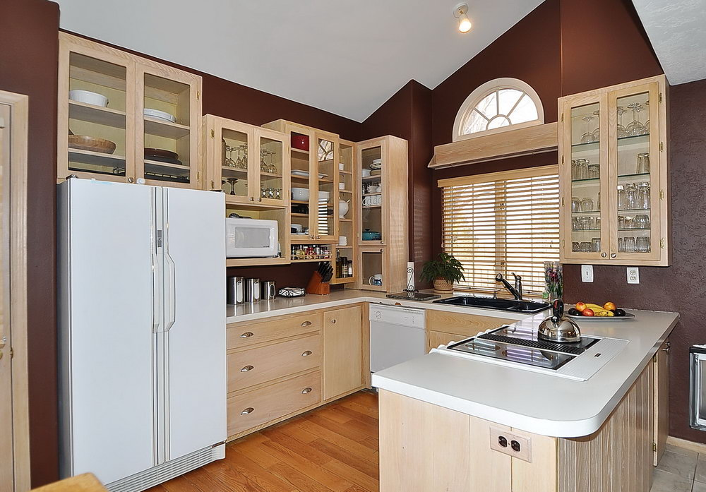 How To Whitewash Kitchen Cabinets Video