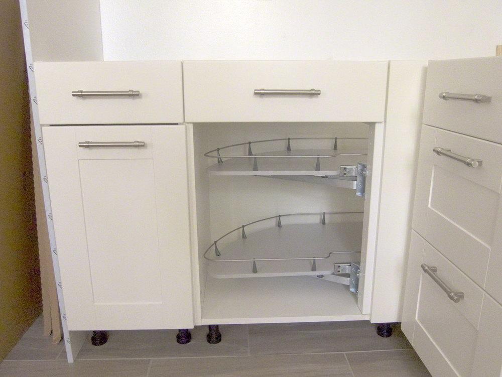 Ikea Corner Kitchen Cabinet Shelf