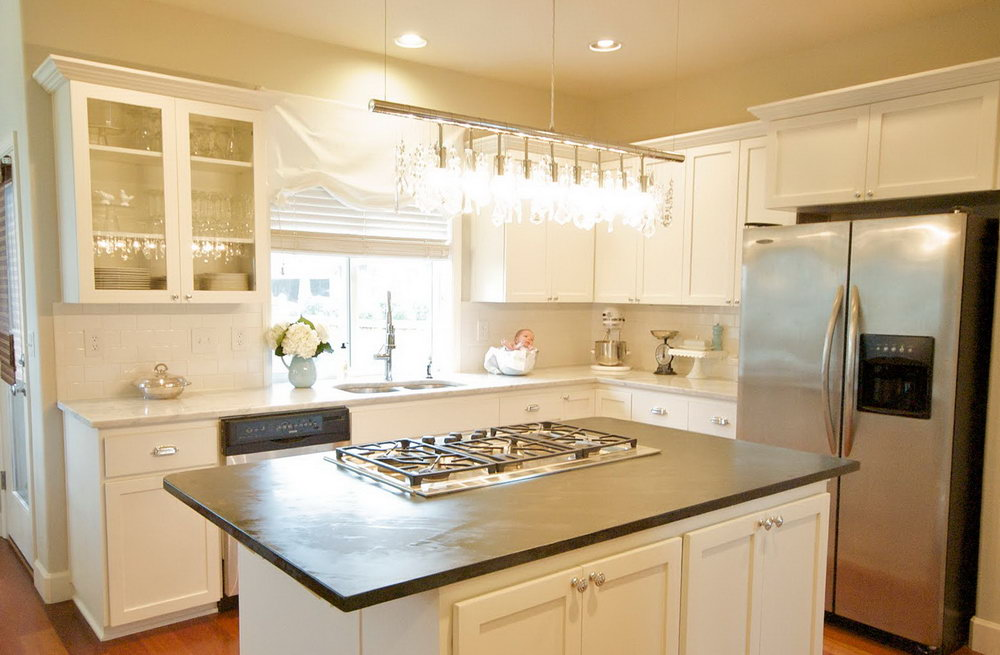 Images Of Small Kitchens With White Cabinets