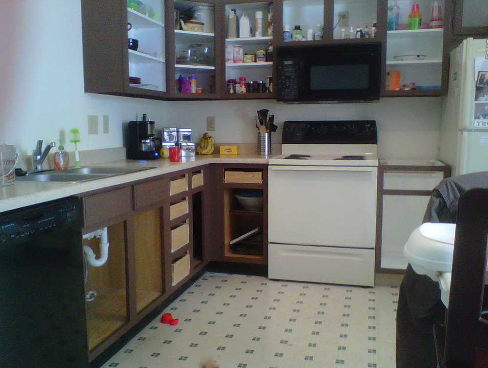 Inside Kitchen Cabinets Paint