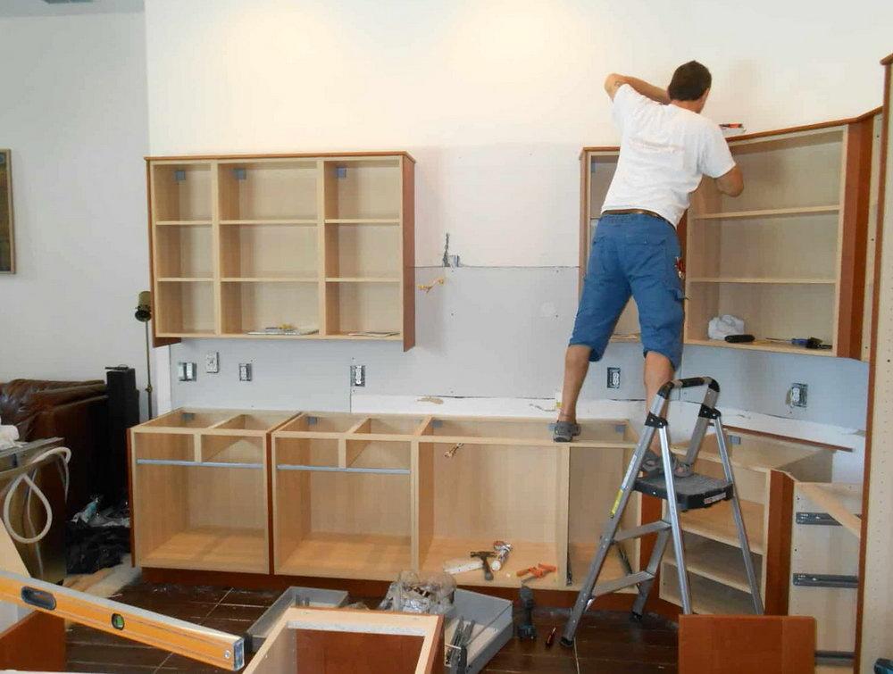 Installing Ikea Kitchen Cabinets Youtube