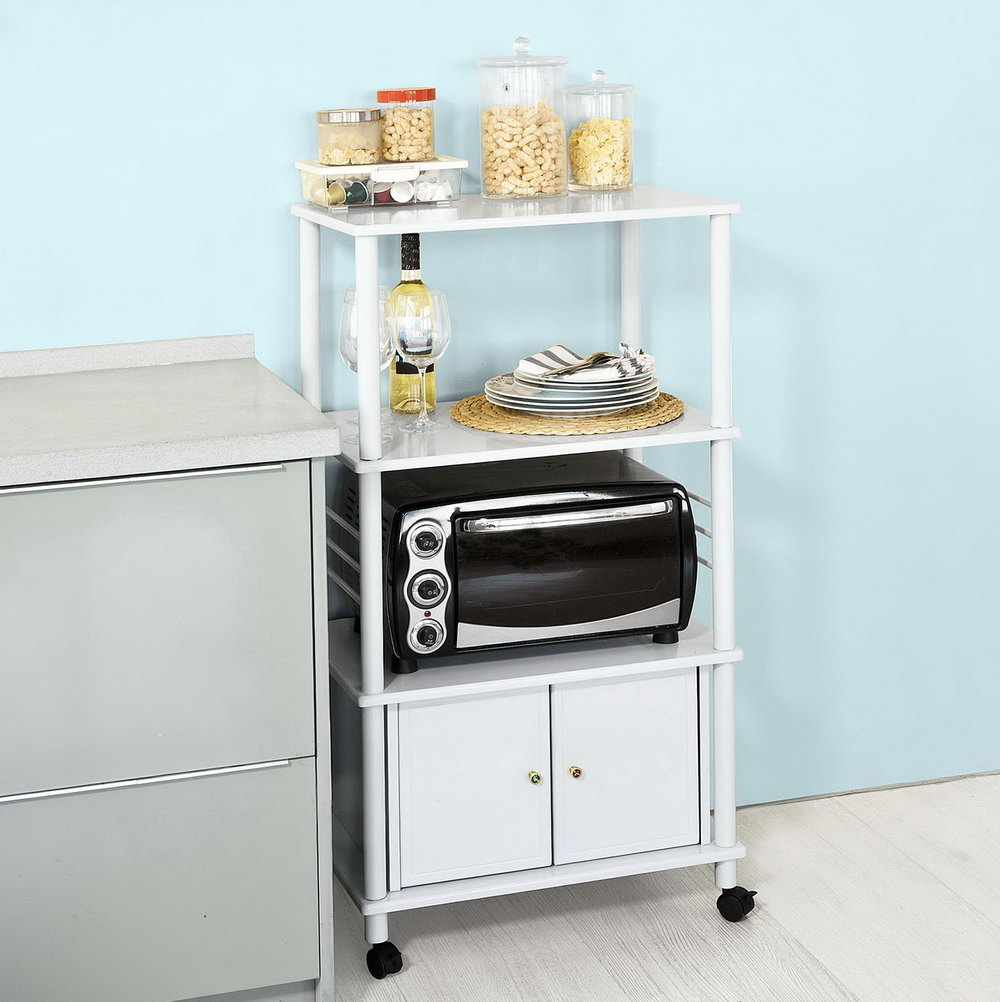 Kitchen Appliance Cabinet Storage