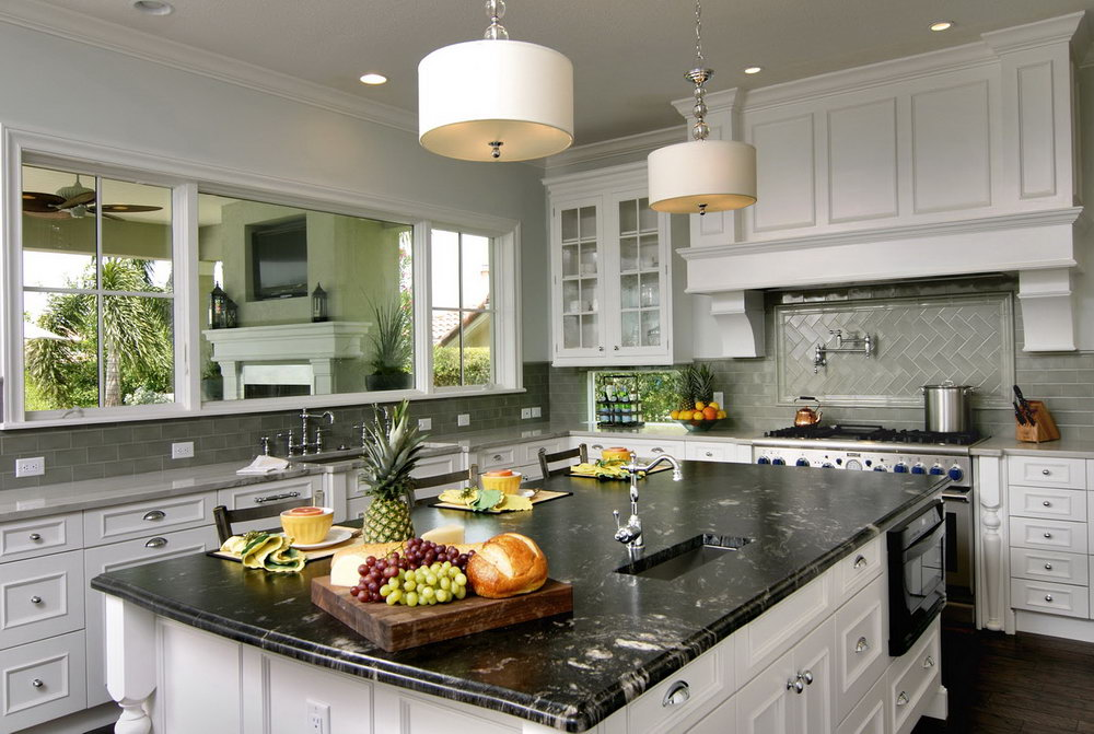 Kitchen Backsplash Ideas With Antique White Cabinets