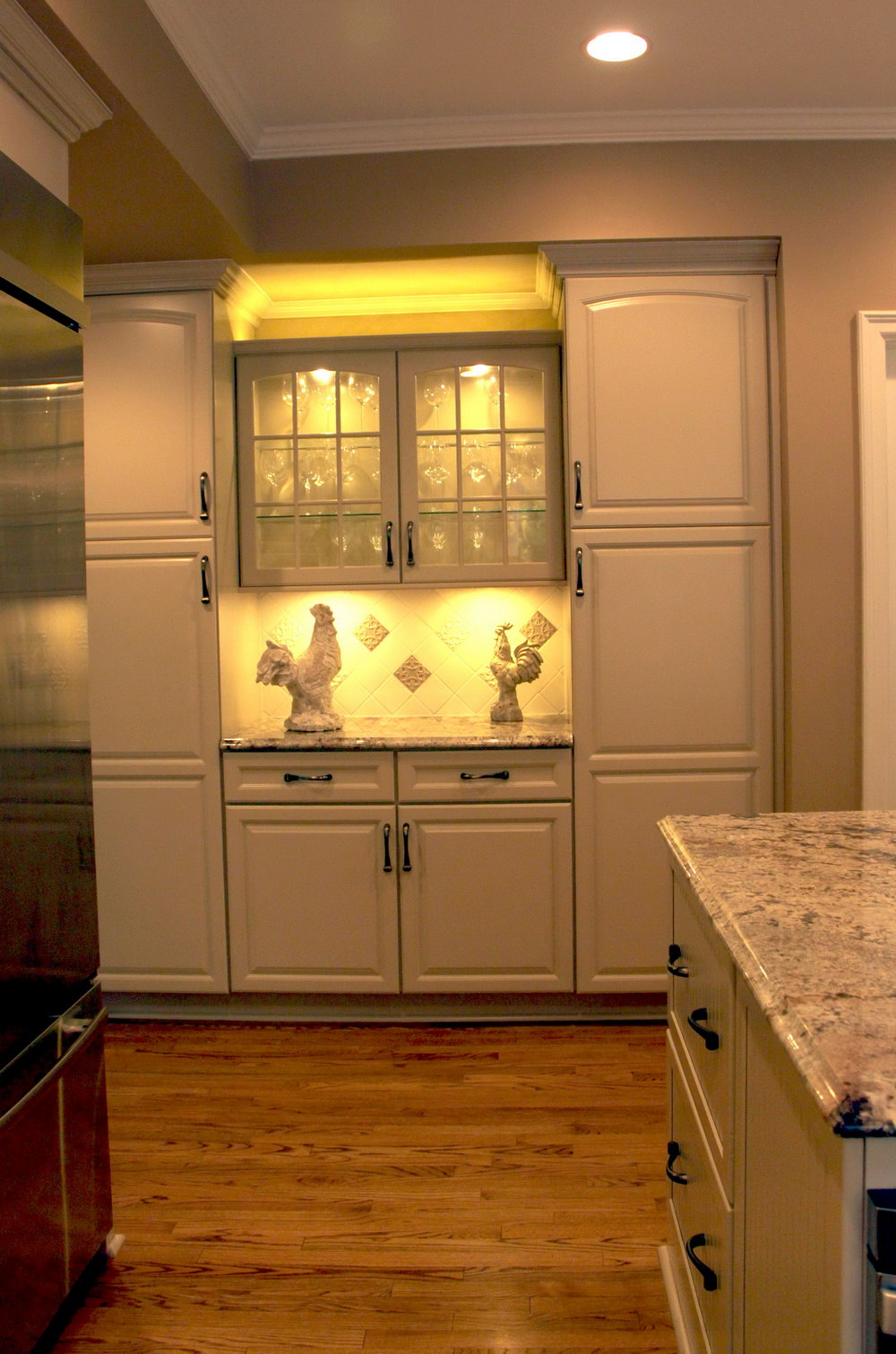 Kitchen Cabinet Glass Door Designs