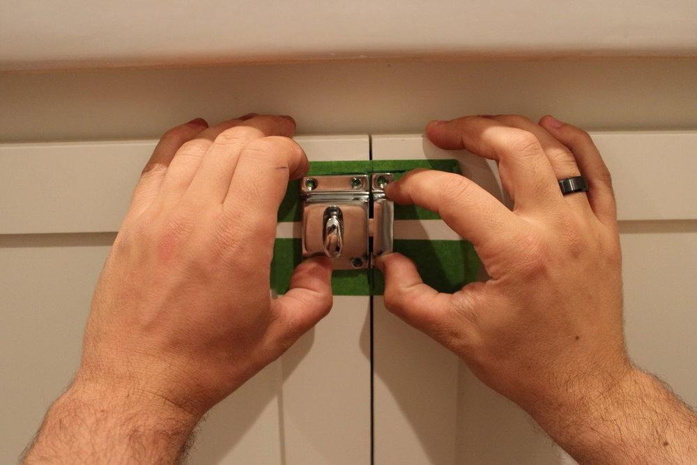Kitchen Cabinet Locks Child Safety