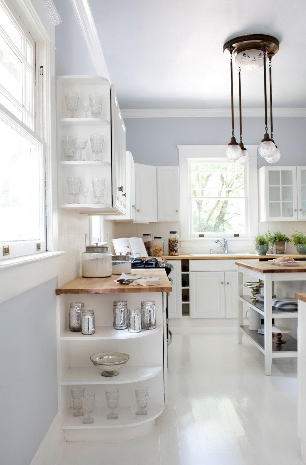 Kitchen Cabinet Open End Shelf