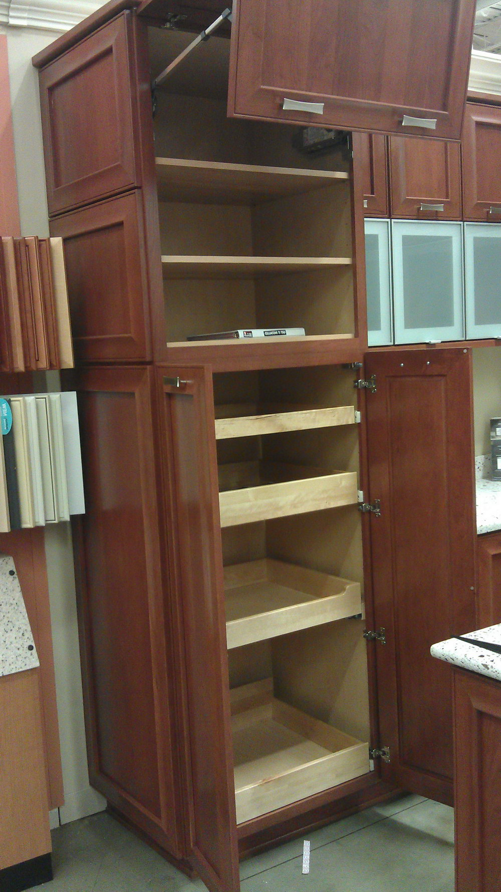 Kitchen Cabinet Pull Out Shelf Hardware