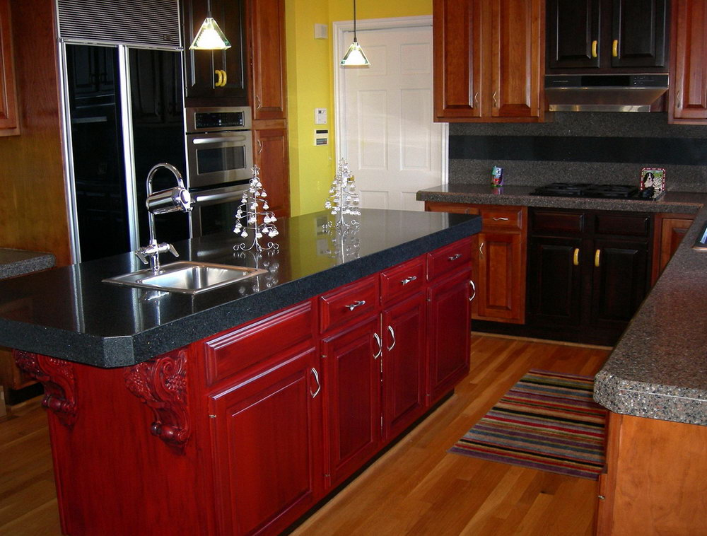 Kitchen Cabinet Repainting Diy
