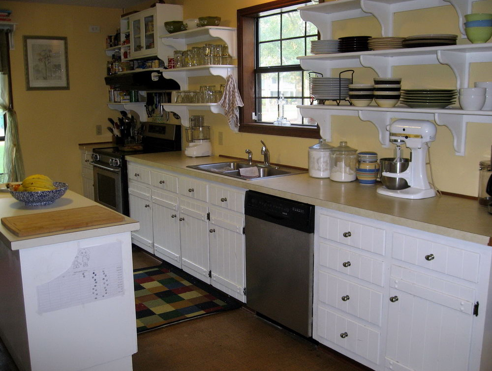 Kitchen Cabinet Shelving Units