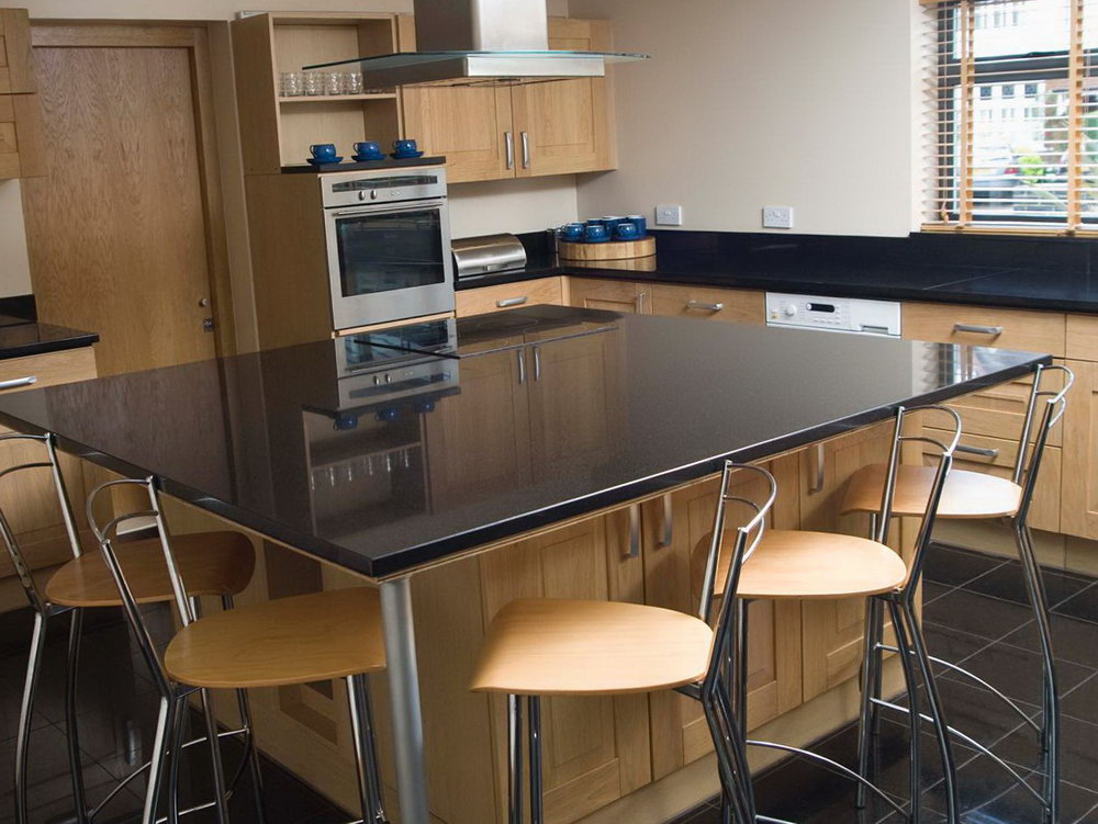 Kitchen Cabinet Spacing Between And Island