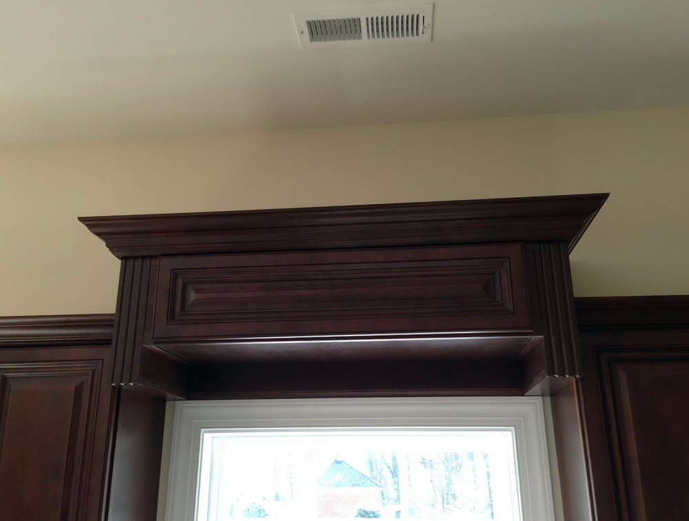 Kitchen Cabinet Valance Installation