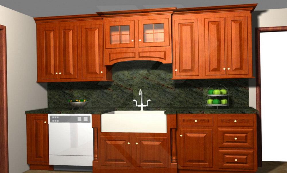 Kitchen Cabinet Valance Lighting