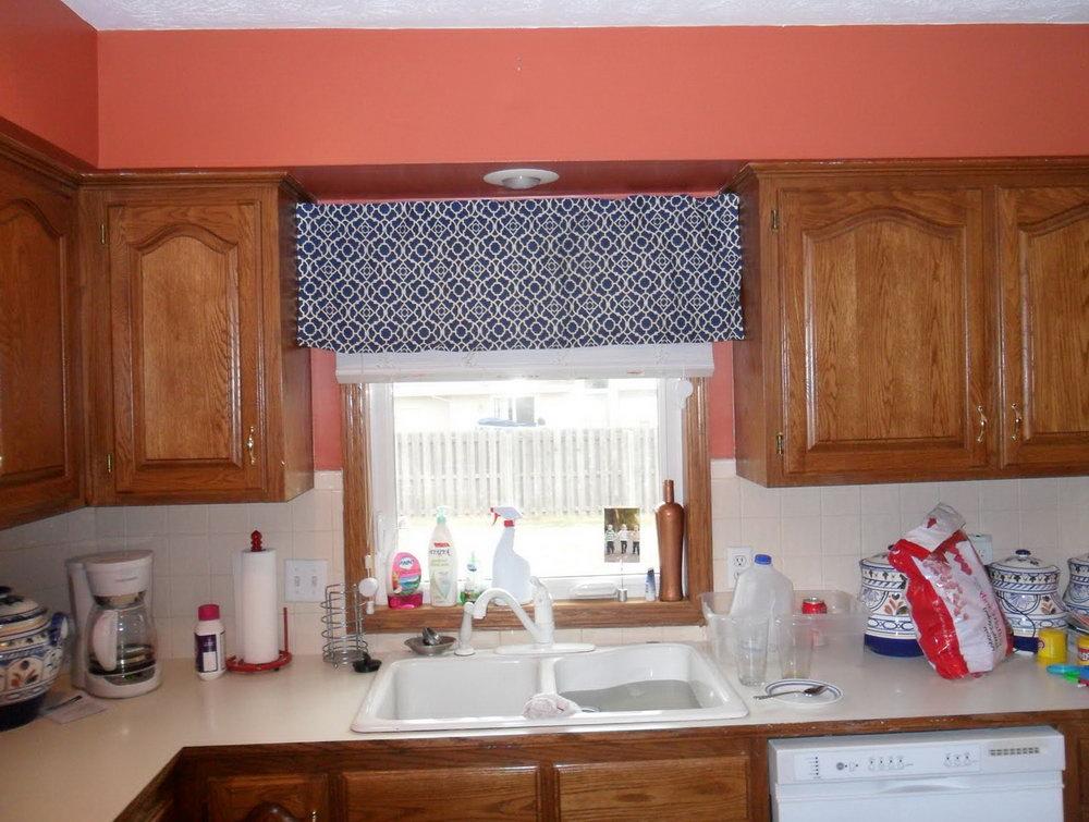 Kitchen Cabinet Valance Over Window