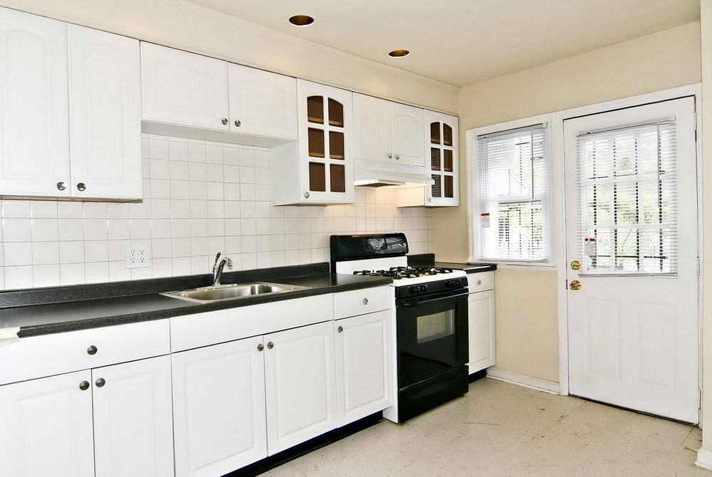Kitchen Cabinet White Color
