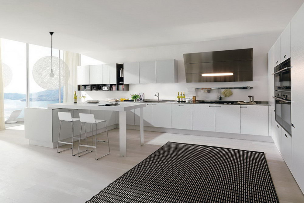 Kitchen Cabinet White Modern
