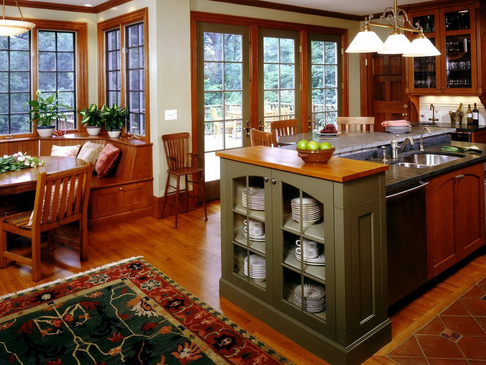 Kitchen Cabinets Arts And Crafts Style