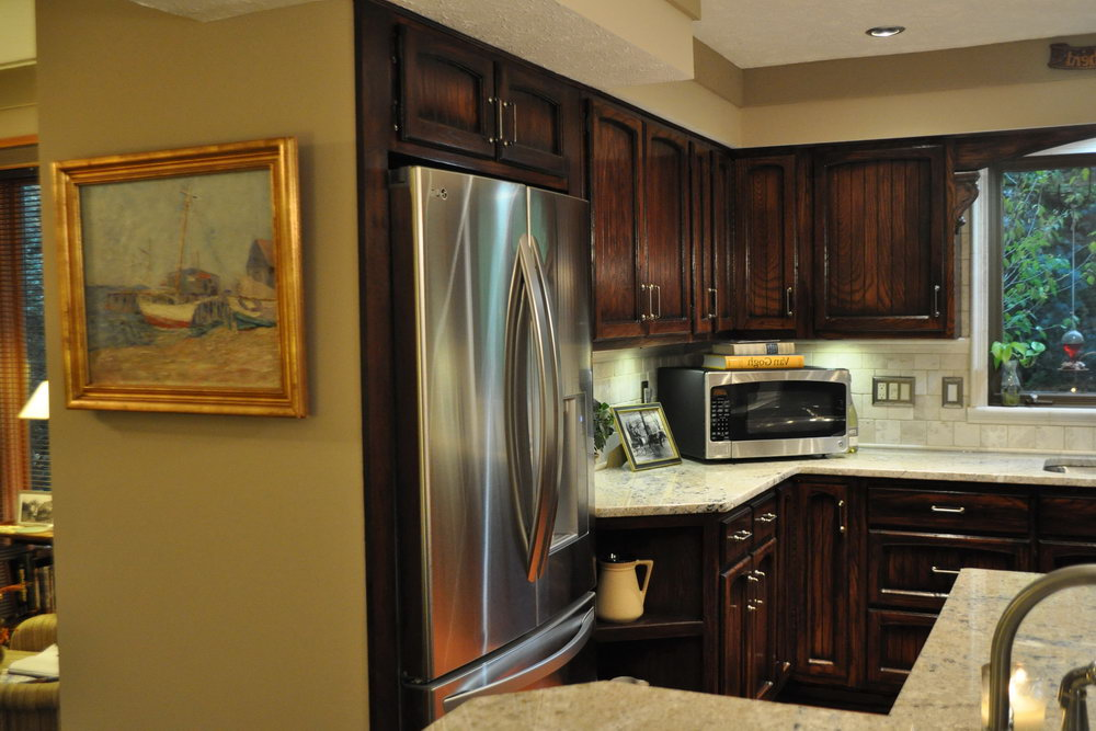 Kitchen Cabinets Refrigerator Panels