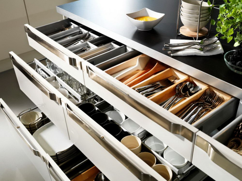 Kitchen Cabinets Storage Systems