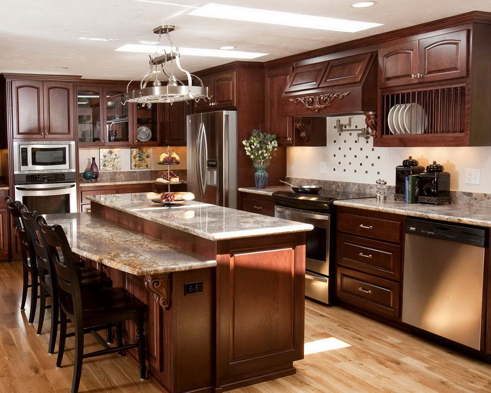Kitchen Cabinets Wood Design