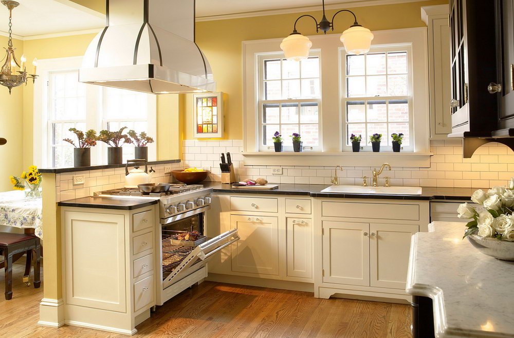 Kitchen Color Ideas With Cream Cabinets