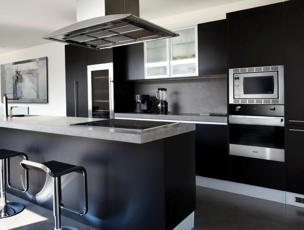 Kitchen Ideas Dark Cabinets Modern