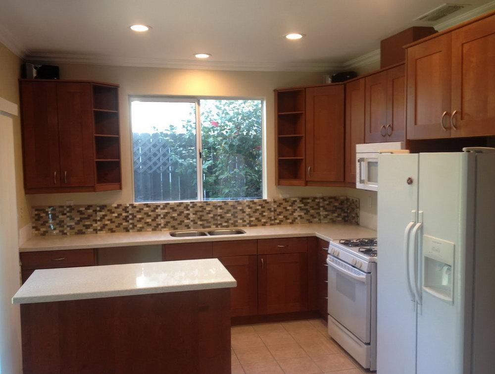 Kitchen Island End Cabinet