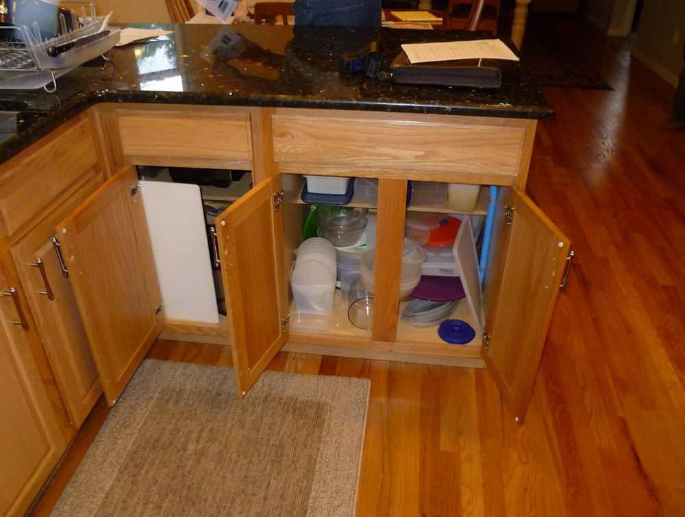 Kitchen Lazy Susan Corner Cabinet Organization