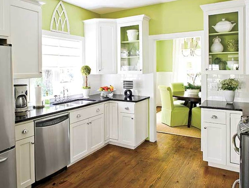 Kitchen Paint Color With White Cabinets