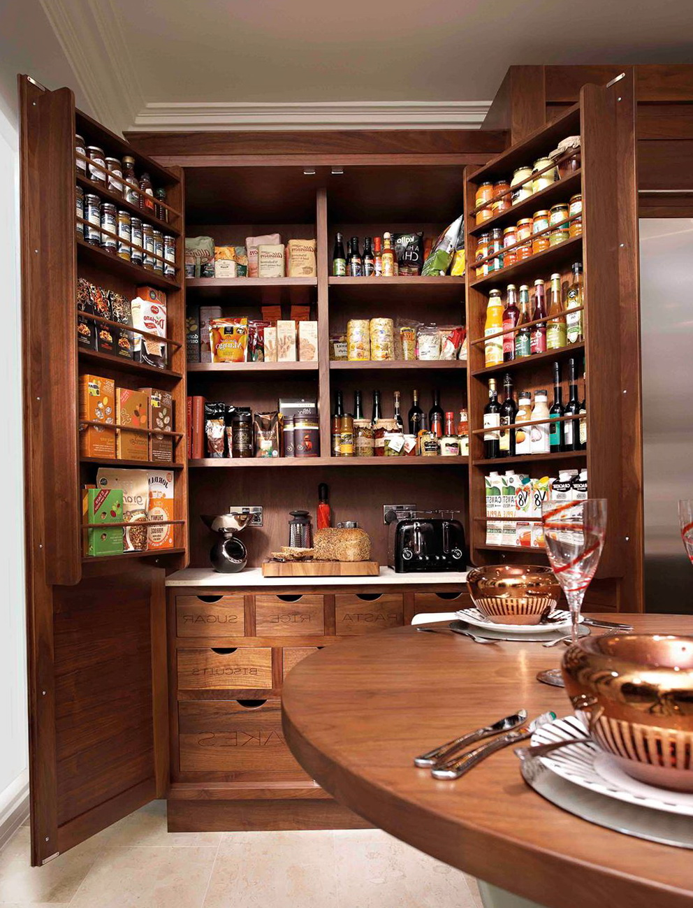 Kitchen Pantry Ideas Cabinets