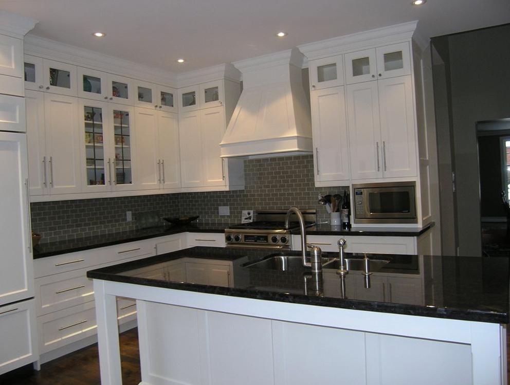 Kitchen Upper Cabinets Glass Doors