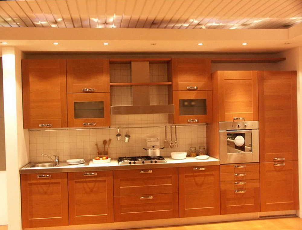 Kitchen Wood Cabinets Designs