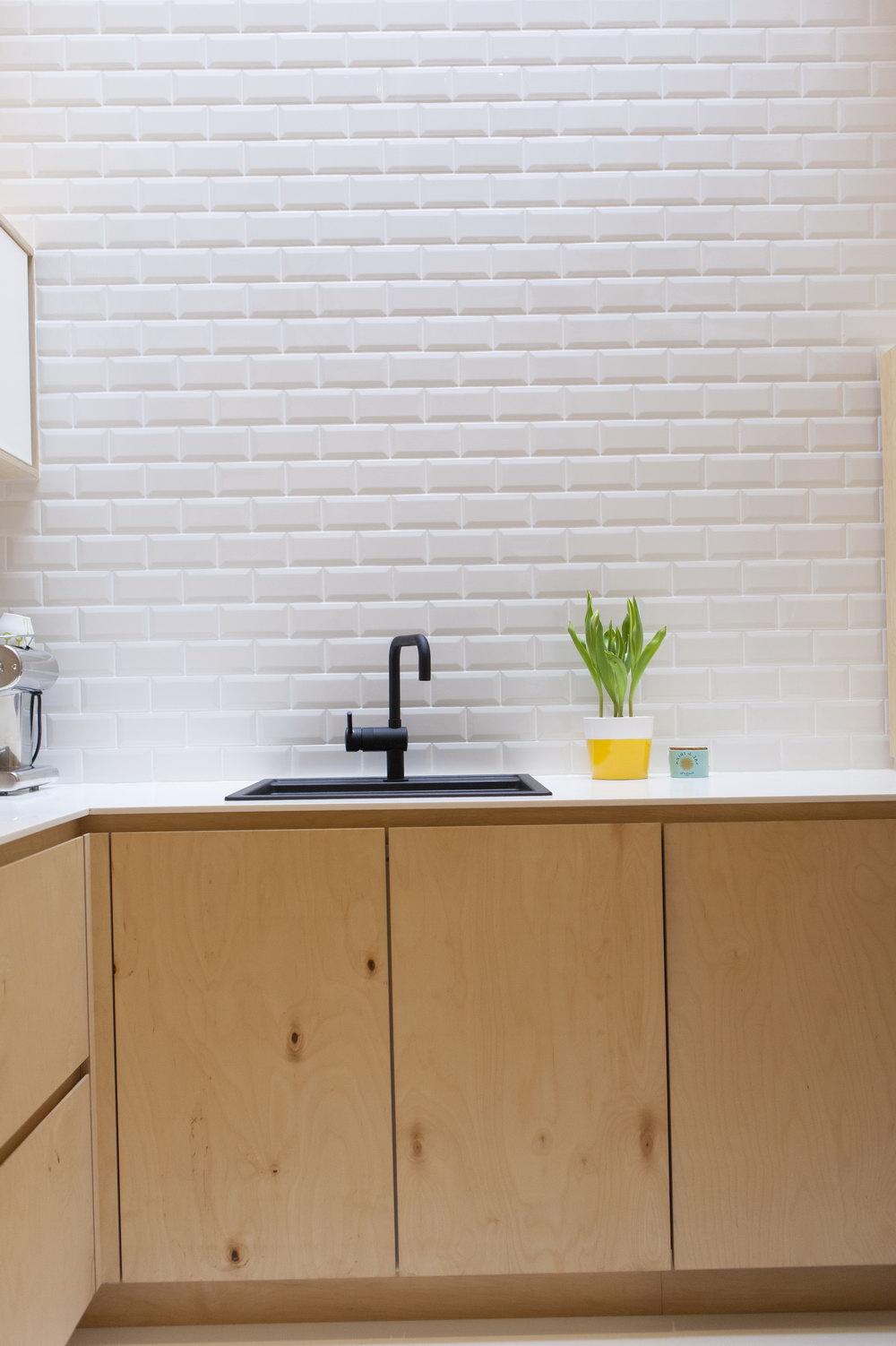 Marine Ply Kitchen Cabinets