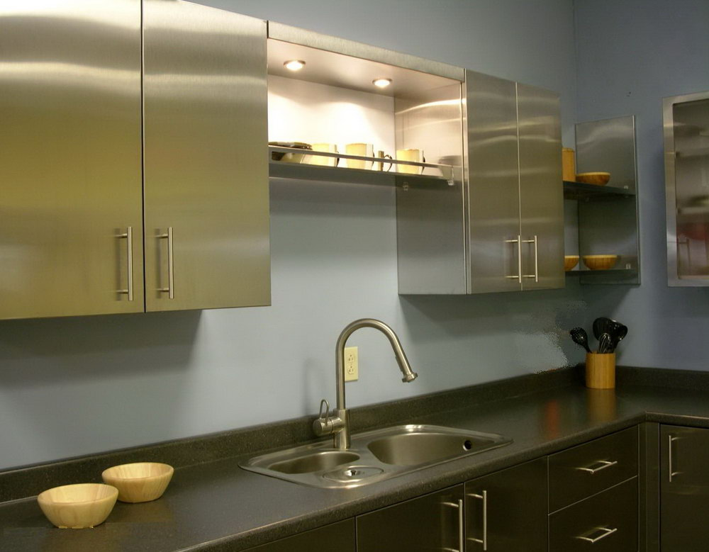 Metal Kitchen Cabinets India