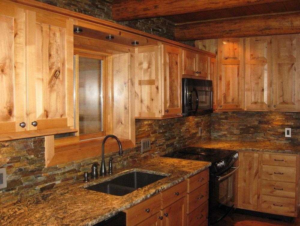 Old Barn Wood Kitchen Cabinets