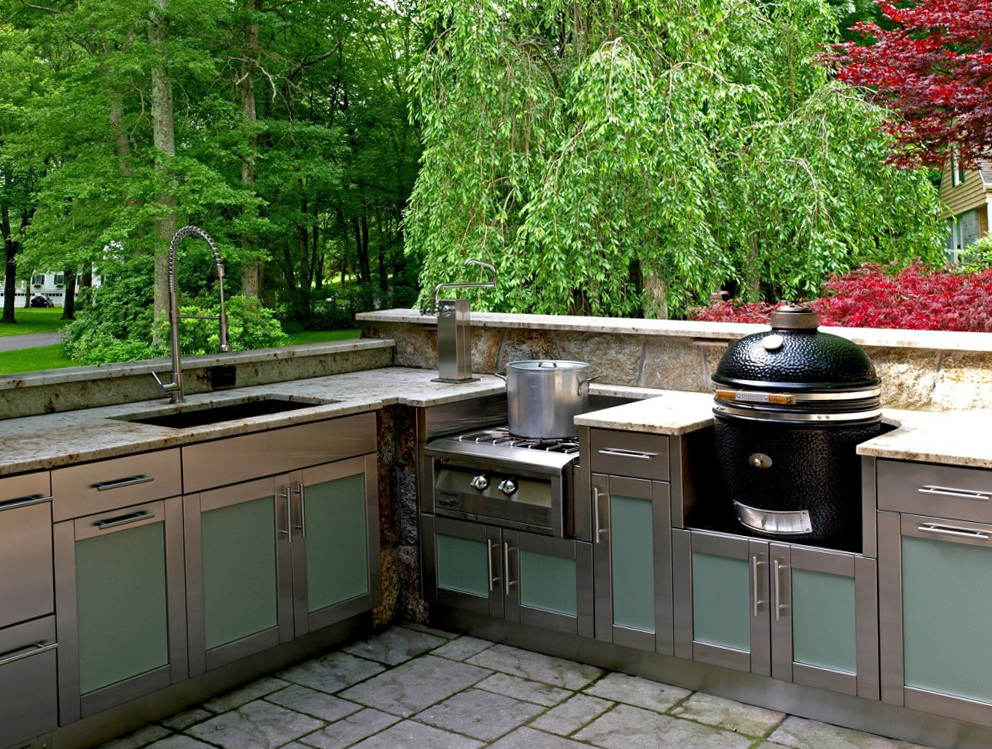 Outdoor Metal Kitchen Cabinets