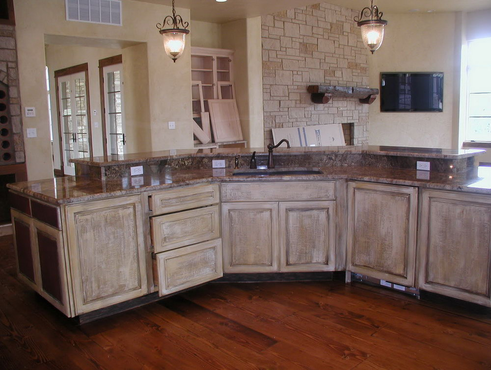 Painting Wood Kitchen Cabinets Before And After