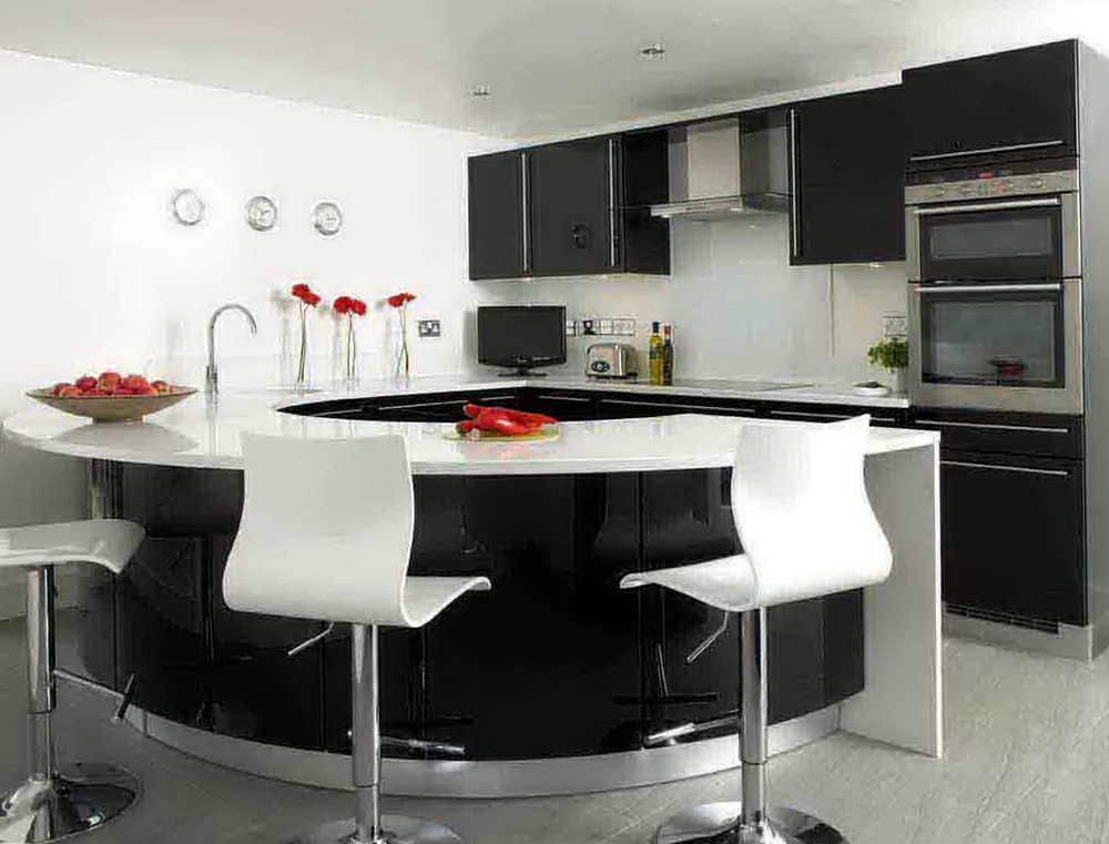 Pics Of Black Kitchen Cabinets