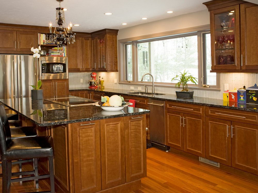 Pictures Of Cherry Cabinet Kitchens