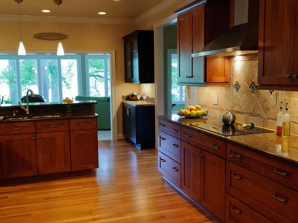 Refinishing Oak Kitchen Cabinets Dark Stain