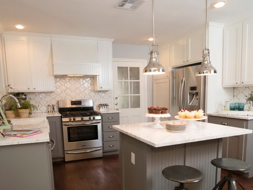 Renovated Kitchens White Cabinets